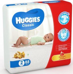 Памперсы Huggies Classic