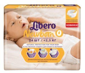 Памперсы Libero Newborn