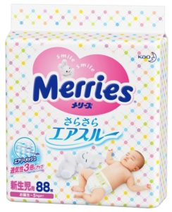 Памперсы Merries