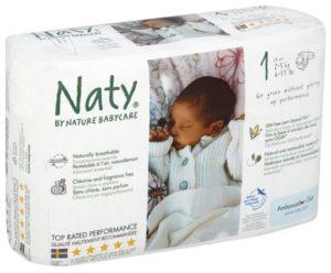 Памперсы Naty 1