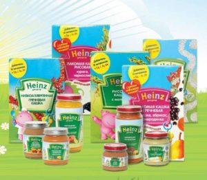 Производитель питания Heinz