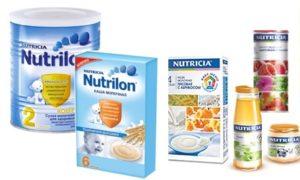 Производитель питания NUTRICIA
