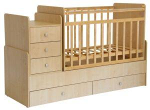 Кроватка Фея 1100