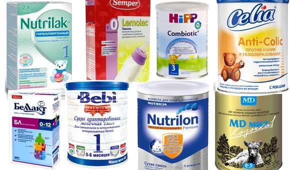 Рейтинг лучших производителей детского питания
