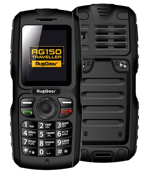 Защищенный RugGear RG150 Traveller