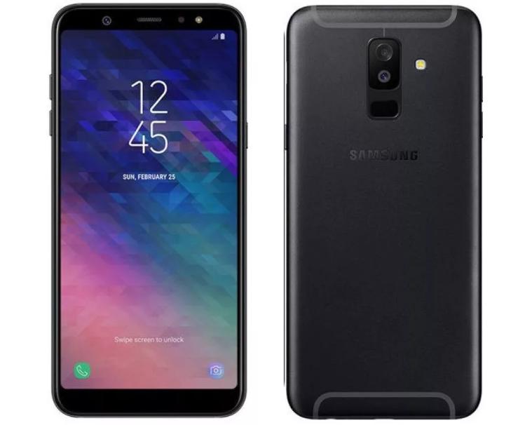 Samsung Galaxy A6+ 32GB с хорошей камерой и батареей