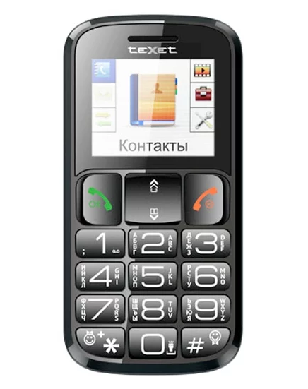 Кнопочный TeXet TM-B116