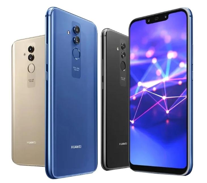 Huawei Mate 20 Lite для селфи