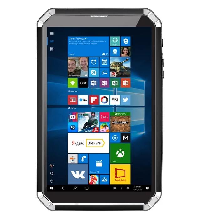 DEXP Ursus GX280 защищенный планшет