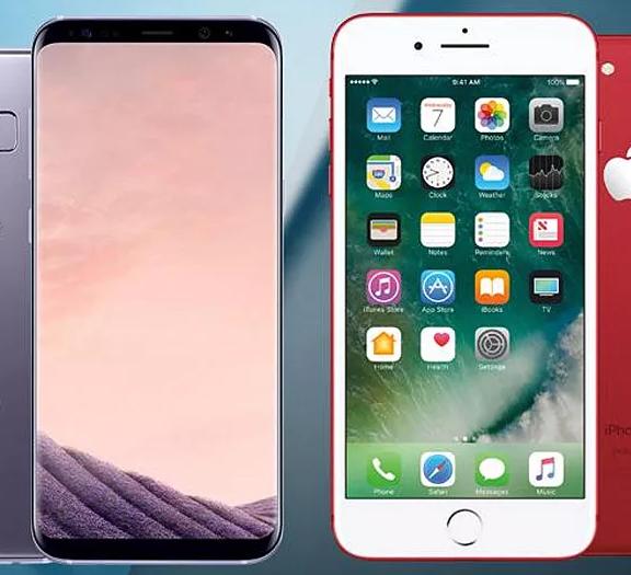 Что выбрать Айфон 8 плюс или Самсунг S9