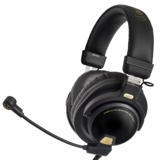 топовые Audio-Technica ATH-PG1