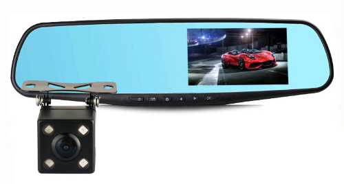 E-ACE Full HD Car Dvr Camera Auto 4.3