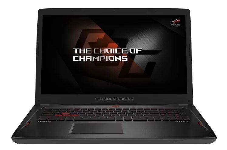 "ASUS модель ROG Strix GL702VI (Intel Core i7 7700HQ 2800 MHz/17.3""/1920x1080/16GB/1256GB HDD+SSD/DVD нет/NVIDIA GeForce GTX 1080/Wi-Fi/Bluetooth/Windows 10 Home)"