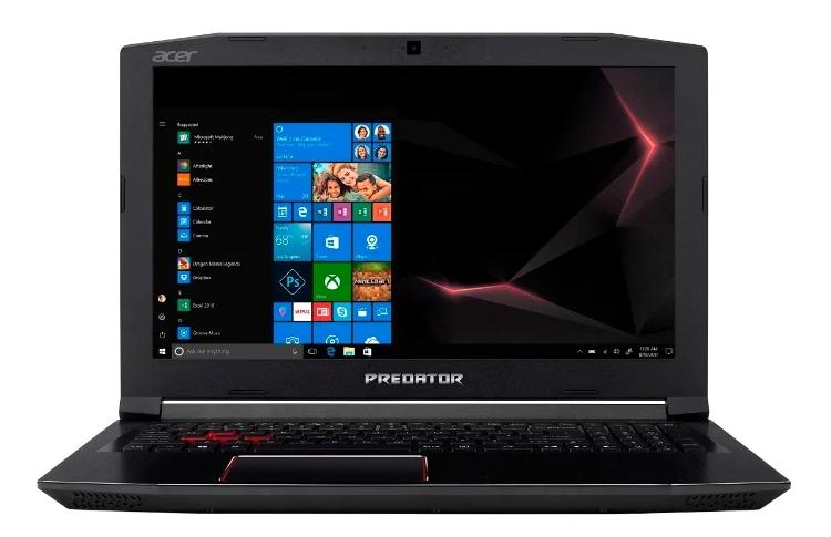 """Acer Predator Helios 300 (PH315-51-58AX) (Intel Core i5 8300H 2300 MHz/15.6""""/1920x1080/16GB/1128GB HDD+SSD/DVD нет/NVIDIA GeForce GTX 1060/Wi-Fi/Bluetooth/Linux) для игр"""