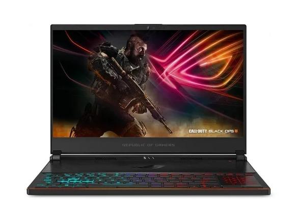 игровой ASUS ROG Zephyrus S GX531GM-ES021T (Intel Core i7 8750H 2200 MHz/15.6{amp}quot;/1920x1080/24GB/512GB SSD/DVD нет/NVIDIA GeForce GTX 1060/Wi-Fi/Bluetooth/Windows 10 Home)