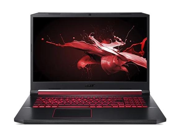 игровой Acer Nitro 5 (AN517-51-78F3) (Intel Core i7 9750H 2600 MHz/17.3{amp}quot;/1920x1080/8GB/1256GB HDD SSD/DVD нет/NVIDIA GeForce GTX 1660 Ti 6GB/Wi-Fi/Bluetooth/Windows 10 Home)