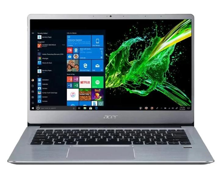 Acer SWIFT 3 (SF314-58-59PL) (Intel Core i5 10210U 1600MHz/14