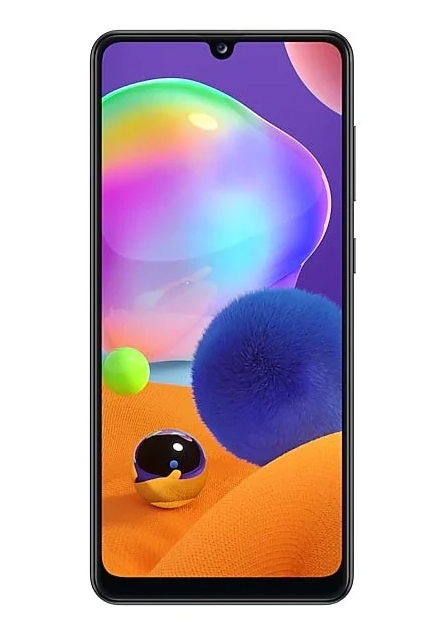 Samsung Galaxy A31 с мощной батареей