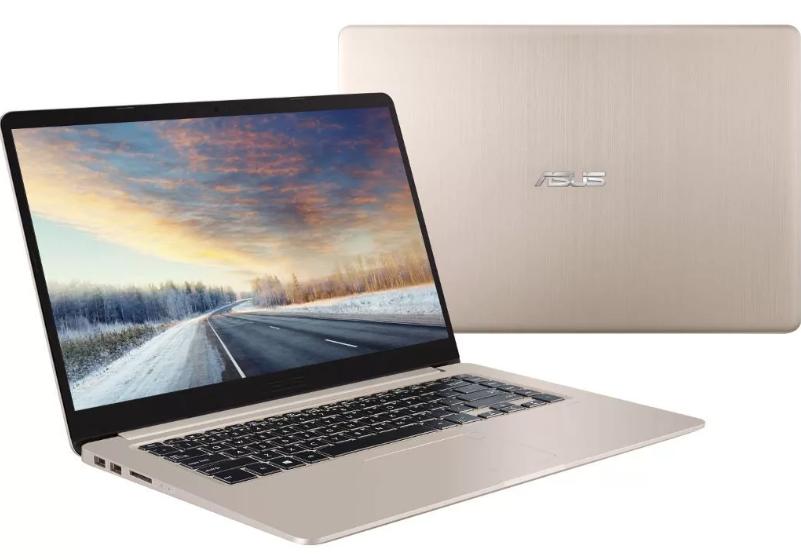 "ASUS VivoBook S15 S510UN (Intel Core i3 7100U 2400 MHz/15.6""/1920x1080/4GB/256GB SSD/DVD нет/NVIDIA GeForce MX150/Wi-Fi/Bluetooth/Endless OS) до 40"