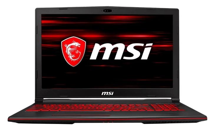 MSI модель GL63 8RD