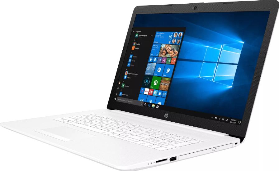 "HP 17-ca0046ur (AMD Ryzen 3 2200U 2500 MHz/17.3""/1600x900/4GB/500GB HDD/DVD-RW/AMD Radeon Vega 3/Wi-Fi/Bluetooth/Windows 10 Home) до 30 тысяч"