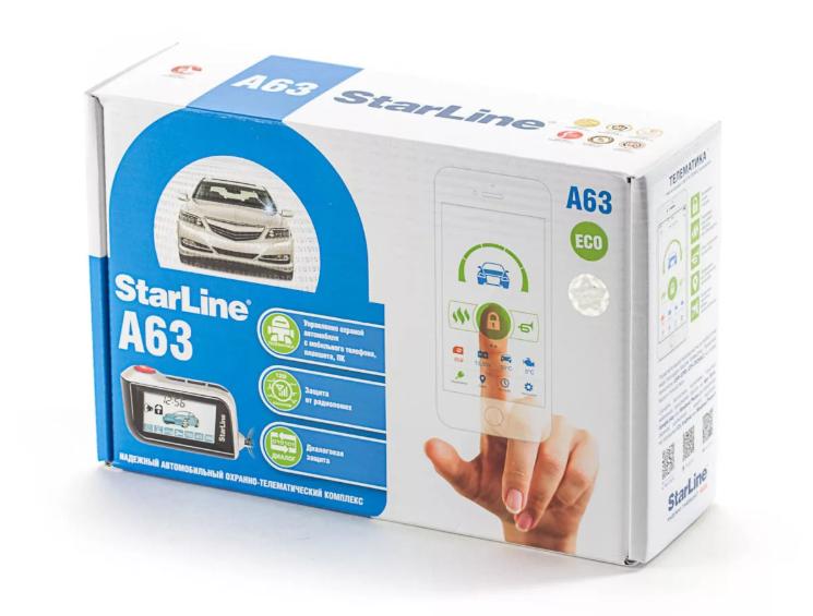 StarLine A63 ECO автосигнализация