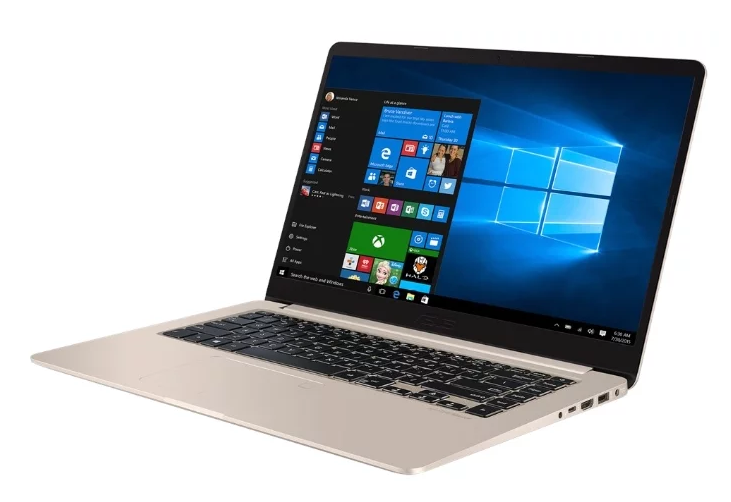 "ASUS VivoBook S15 S510UN (Intel Core i3 7100U 2400 MHz/15.6""/1920x1080/6Gb/1000Gb HDD/DVD нет/NVIDIA GeForce MX150/Wi-Fi/Bluetooth/Windows 10 Home) для учебы"