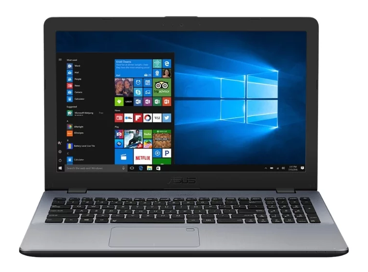 "ASUS VivoBook 15 X542UF (Intel Core i3 8130U 2200 MHz/15.6""/1920x1080/4GB/500GB HDD/DVD нет/NVIDIA GeForce MX130/Wi-Fi/Bluetooth/Windows 10 Home) для учебы"