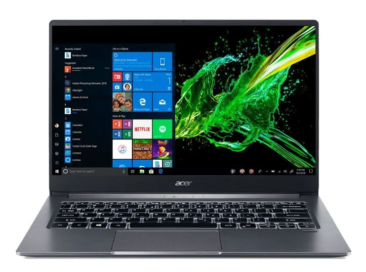 Acer SWIFT 3 SF314-57 с подсветкой