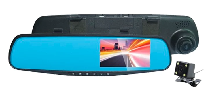 SHO-ME SFHD-700, 2 камеры