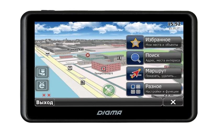 Digma AllDrive 505 для авто