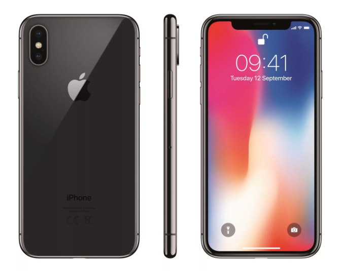 Apple iPhone X 64GB до 60
