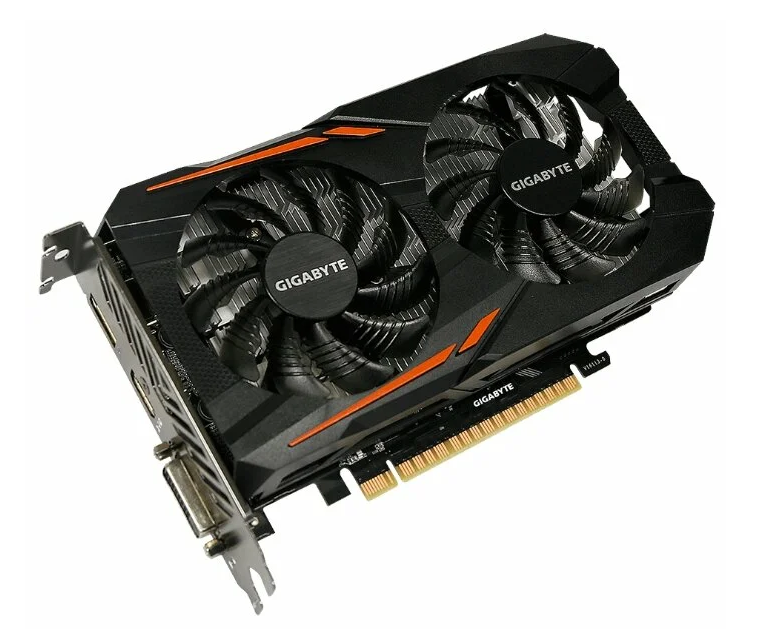 GIGABYTE GeForce GTX 1050 Ti 1316MHz PCI-E 3.0 4096MB 7008MHz 128 bit DVI HDMI HDCP OC