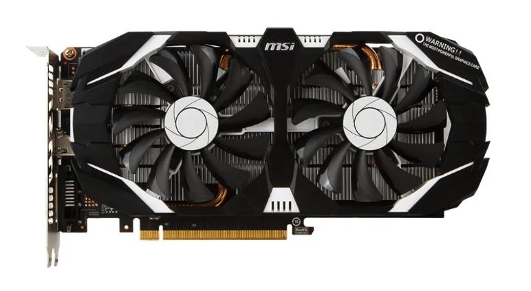 MSI GeForce GTX 1060 1544MHz PCI-E 3.0 3072MB 8008MHz 192 bit DVI HDMI HDCP