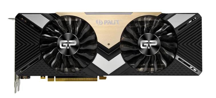 Palit GeForce RTX 2080 Ti 1350MHz PCI-E 3.0 11264MB 14000 МГц 352 bit HDMI HDCP Dual