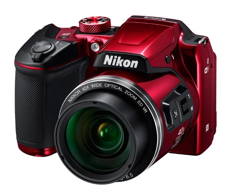 Компактный фотоаппарат Nikon Coolpix B500 с поворотным экраном