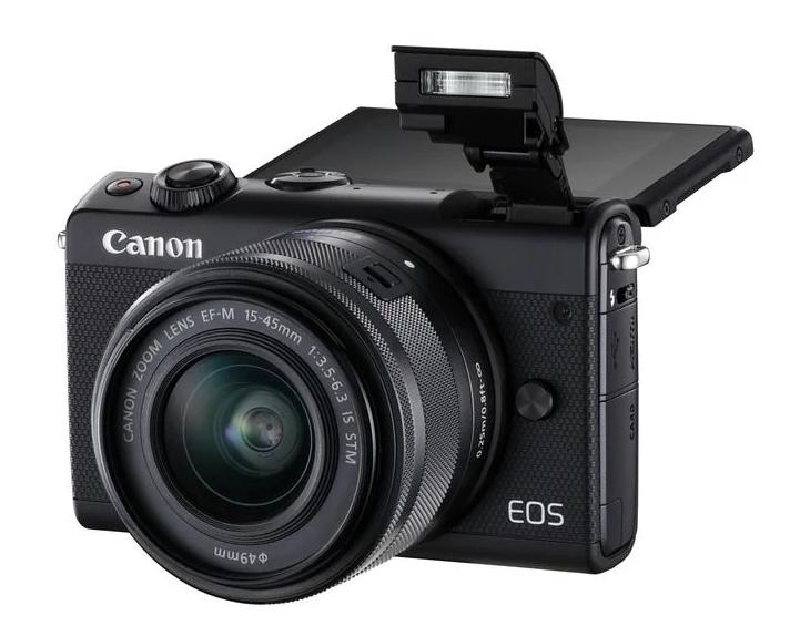 Фотоаппарат со сменной оптикой Canon EOS M100 Kit с поворотным экраном