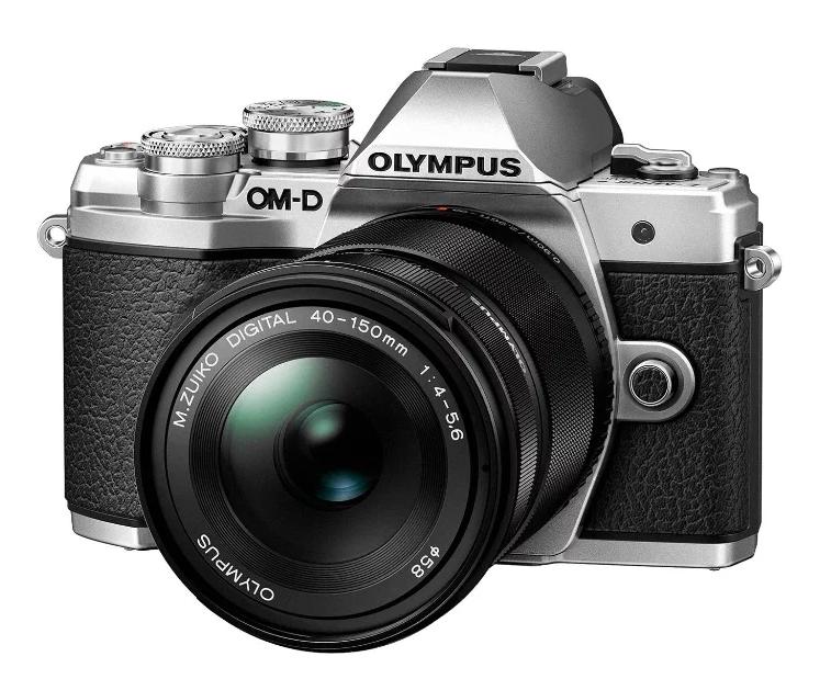 Фотоаппарат со сменной оптикой Olympus OM-D E-M10 Mark III Kit с поворотным экраном