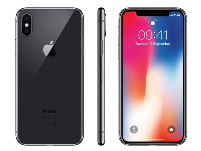 Apple iPhone X 64GB с стабилизацией