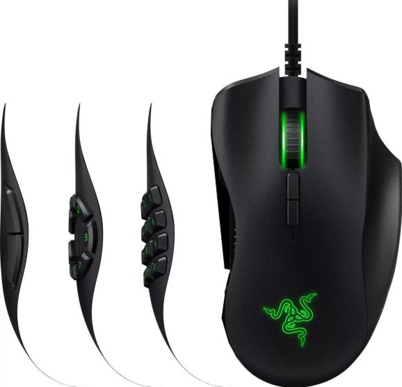 игровая Razer Naga Trinity Black USB
