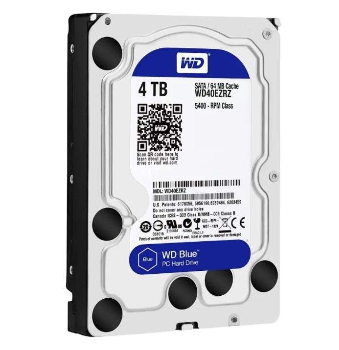 Western Digital WD Blue Desktop 4 TB (WD40EZRZ)