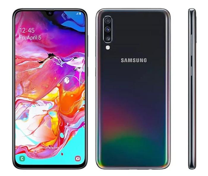 Samsung Galaxy A70 с маркета