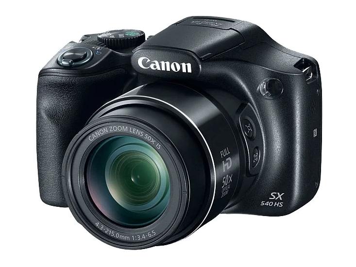 Компактный фотоаппарат Canon PowerShot SX540 HS для путешествий