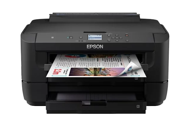 цветной Epson WorkForce WF-7210DTW