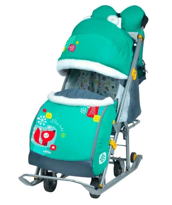Санки-коляска Nika Ника Детям 7-2 (НД 7-2)