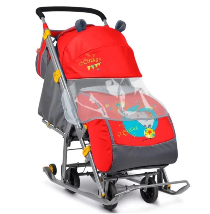 Санки-коляска Nika Ника Детям 7 (НД-7)