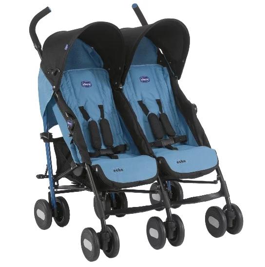 Прогулочная коляска Chicco Echo Twin для двойни