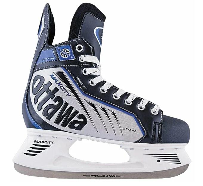 Детские хоккейные коньки Max City Ottawa для мальчиков