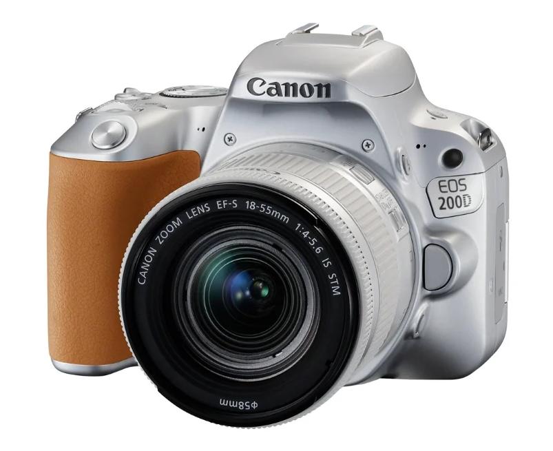 Зеркальный фотоаппарат Canon EOS 200D Kit для начинающих
