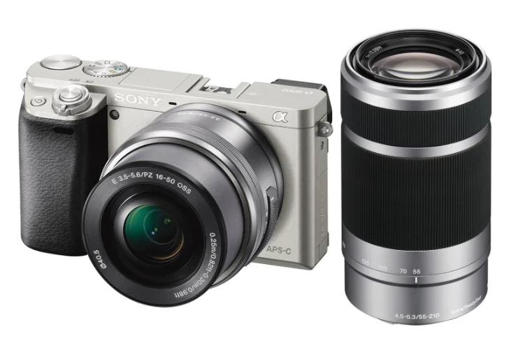 Фотоаппарат со сменной оптикой Sony Alpha ILCE-6000 Kit для начинающих